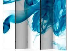 Paraván - Blue smoke II [Room Dividers]